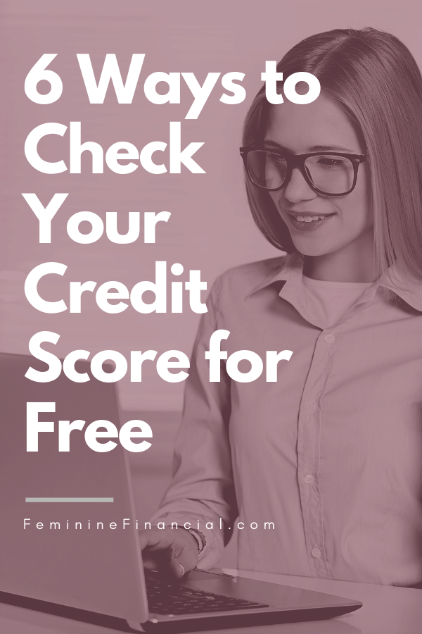 Knowing your credit score is important when it comes to making financial decisions that will require you to apply for credit. Learn multiple ways to check your credit score for free. Get your VantageScore 3.0 or FICO Score 8 from the 3 major credit bureaus - Equifax, Experian, and Transunion #creditscore #creditscores #ficoscore #vantagescore #FeminineFinancial